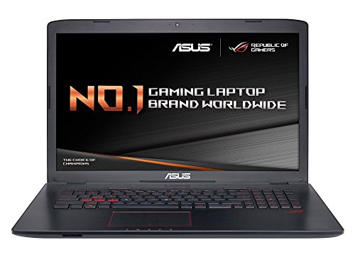 ASUS GL752VW 17.3 inch Notebook (Intel Core i7-6700HQ 2.6 GHz Processor, 16 GB RAM, 1 TB HDD, 128 GB SSD, NVIDIA Graphics, Windows 10) - Grey