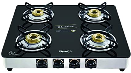 Blackline Square SS Gas Cooktop (4 Burner)
