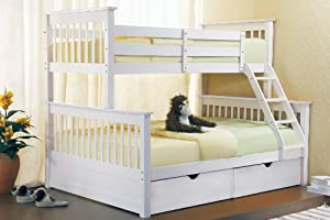 Bunk Bed Sonya Triple Sleeper Bunk Bed