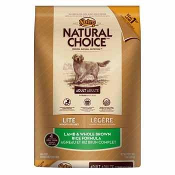 Natural Choice Lite Adult Dog Food Lamb And Whole Brown Rice Formula, 15-Pound