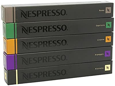 50 Nespresso Capsules (Choice of Flavours) by Nespresso
