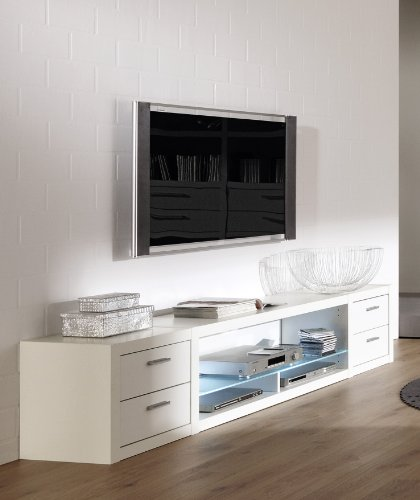 cs schmal tv wand como preisvergleich shops tests. Black Bedroom Furniture Sets. Home Design Ideas