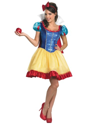 Disguise Women's Disney Deluxe Sassy Snow White Costume