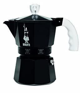 "Bialetti: Moka Express ""Artisti"" Limited Edition 3-Cup Black [ Italian Import ] by Bialetti"