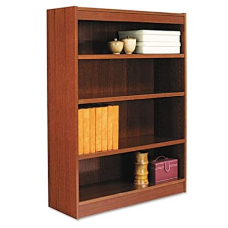 ALEBCS44836MC - Best Square Corner Wood Veneer Bookcase