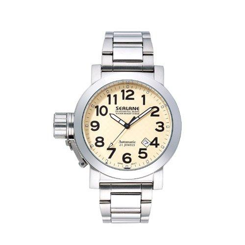 [シーレーン]SEALANE 腕時計 10BAR オートマチック メタル SE07-IV メンズ