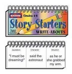 WRITE ABOUTS STORY STARTERS