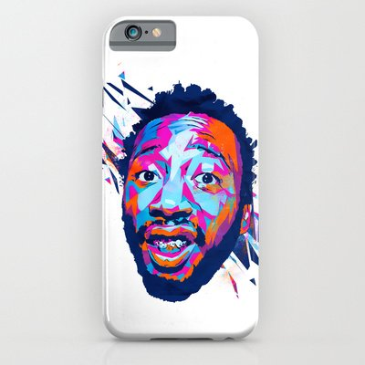 Society6 - Ol' Dirty Bastard: Dead Rappers Serie Iphone 6 Case By Largetosti
