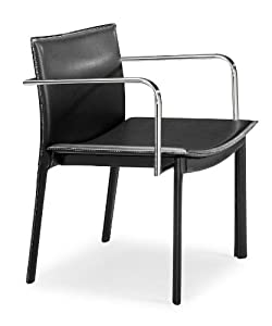 Gekko Leatherette Conference Chair [Set of 2] Finish: Black