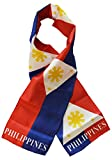 """Philippines - 8"""" x 63"""" Lightweight Polyester Flag Scarf"""