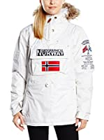 Geographical Norway Chaqueta Building (Blanco)