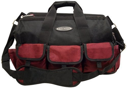 McGuire Nicholas 22426 18-Inch Width Double Side Tool Bag in Burgundy