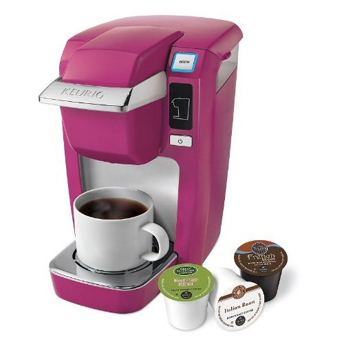Find Discount Keurig Mini Plus K10 Coffee Brewing System, HOT Pink