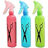 Vepson 3 Pcs Set Of Water Spray Bottle Hairdressing Hair Salon Spray