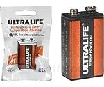 LithiumP3/ 9V XU9VL Fire Alarm Battery from Ultralife