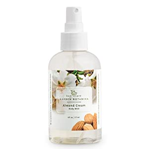 Garden Botanika Almond Cream Body Mist, Off White, Almond, 6 Fluid Ounce from Garden Botanika