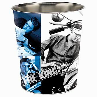 Elvis Presley The King Wastepaper Basket