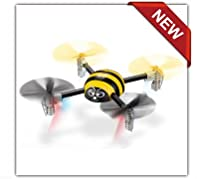 Yellow Mini Pet Quad Copter - Value Pack Edition! by Singdatoy