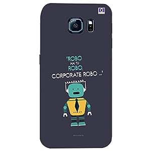 Corporate Robo - Mobile Back Case Cover For Samsung Galaxy S6 Edge