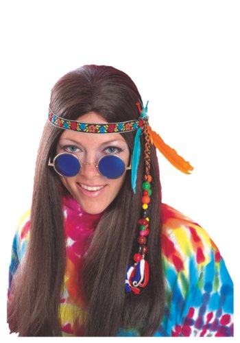 Rubie's Costume Co Headband with Feathers & Beads Costume