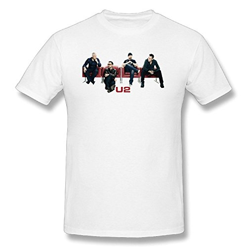 U2 Rock Band T-shirts For Men White