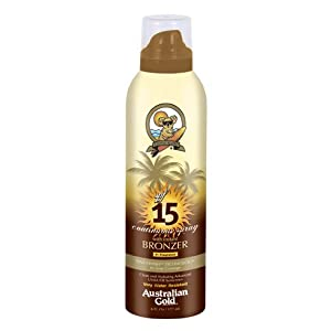 Australian Gold SPF 15 Continuous Spray Bronzer, 6 Ounce