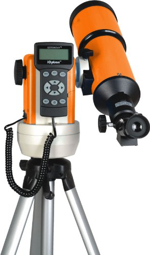 Ioptron 9502R-A Smartstar-R80 Computerized Telescope - Cosmic Orange With Carry Bag