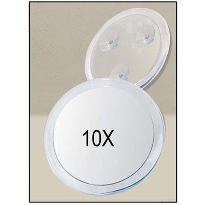 Suction Cup 10X Magnifying Mirror