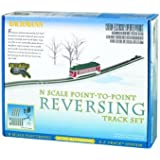 Bachmann Industries E-Z Track Nickel Silver E-Z Track Auto-Reversing System N Scale