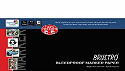 Brustro Bleedproof Marker Papers 70 GSM A4