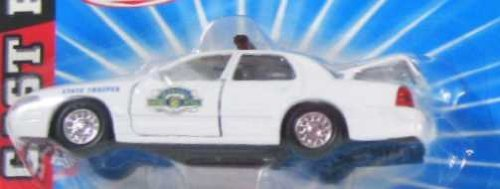 KANSAS HIGHWAY PATROL Road Champs 1998 Ford Crown Victoria Police Series Die Cast Car 1:43 Scale