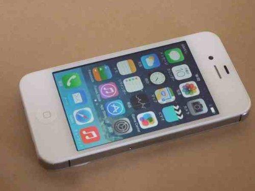 海外 香港版SIMフリー  iPhone4S 16GB ホワイト MD239ZP/A
