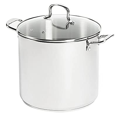SALT 16 qt. Stainless Steel Stock Pot