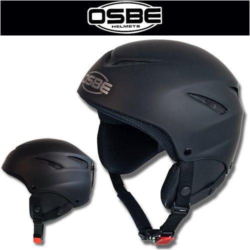 OSBE Skihelm Snowboardhelm Ski Helm BOARD II schwarz, Gr.M (57-58)