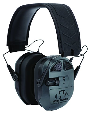 Walkers Game Ear Ultimate Digital Quad Connect Muff with Bluetooth, Black (Bluetooth Protective Ear Muffs compare prices)