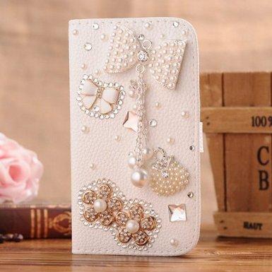 Review Of Incore Creative Samsung I9150 i9152 i9158 Galaxy Mega 5.8 Bling Jewelry Diamond Gem Leathe...