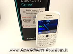 BlackBerry Curve 9320 Smartphone BlackBerry 7.1 OS GSM/GPRS/EDGE/3G Bluetooth Wifi 512 Mo Blanc