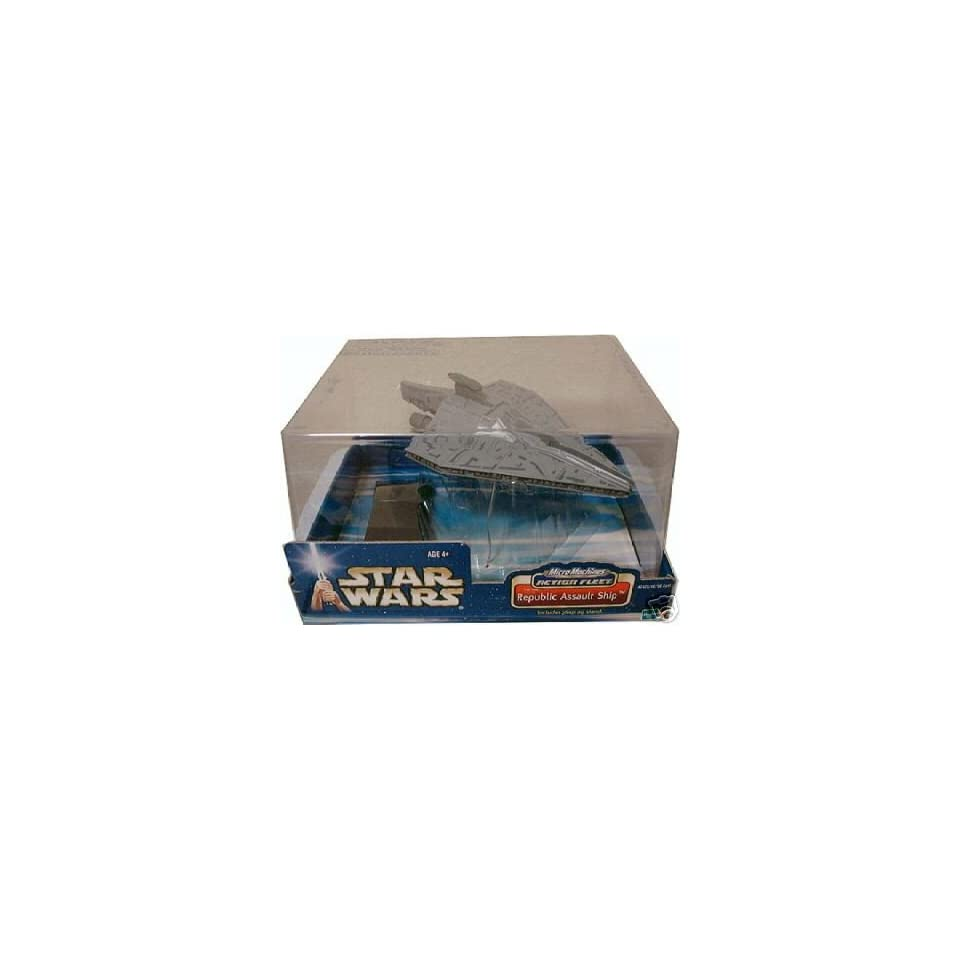 Star Wars Micro Machines Action Fleet Republic Assault Ship