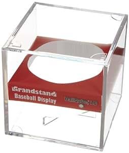 BallQube Grandstand Baseball Holder Acrylic Display - Made in the USA