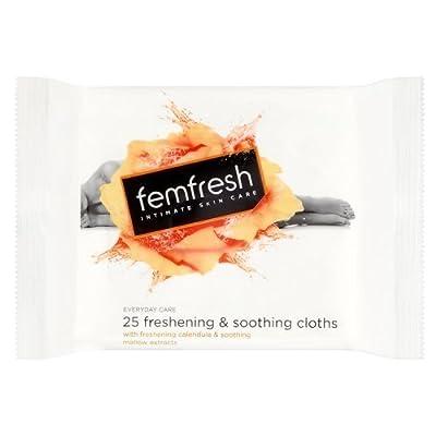Femfresh Intimate Hygiene Large Feminine Freshness Wipes, 25 Wipes by Femfresh