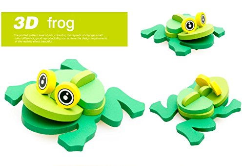 Thinkmax 3-D Wooden Puzzle Affordable Gift For Your Little One!£¨Frog ) front-263861