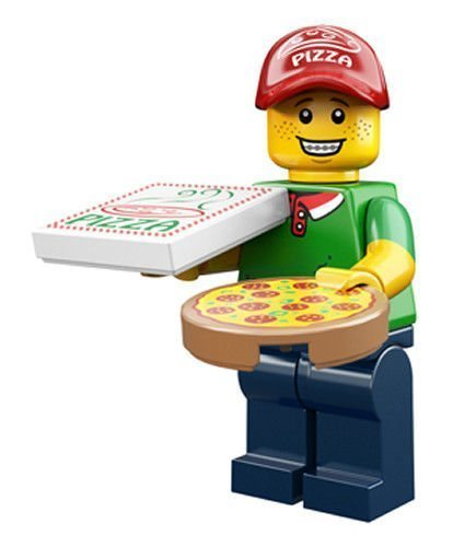 LEGO Series 12 Collectible Minifigure 71007 - Pizza Delivery Guy by LEGO - 1