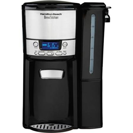 Hamilton Beach BrewStation 12-Cup Dispensing Coffeemaker with Removable Water Reservoir, 47900 (47900 Hamilton Beach compare prices)