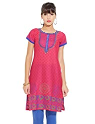 LOVELY LADY Ladies Cotton Solid KURTI - B00ZCC6RVC