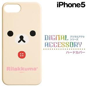 iPhone5専用 ハードカバー コリラックマフェイス CT33301
