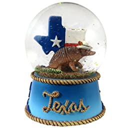 Texas Snow Globe Snow Dome- 65 MM- Top line