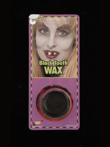 Black Tooth Makeup Wax Costume Theatrical Stage Pirate Hillbilly