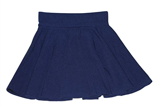 Am Clothes Womens Fall Winter Sexy High Waist Solid Color Mini Skirt Royal Blue front-753551
