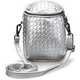 Generic Crossbody Bag For 5. 5-inch Smartphone- Silver