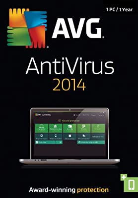 AVG AntiVirus 2014, 1-User 1-Year
